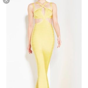 Herve Leger Isidore Signature Gown